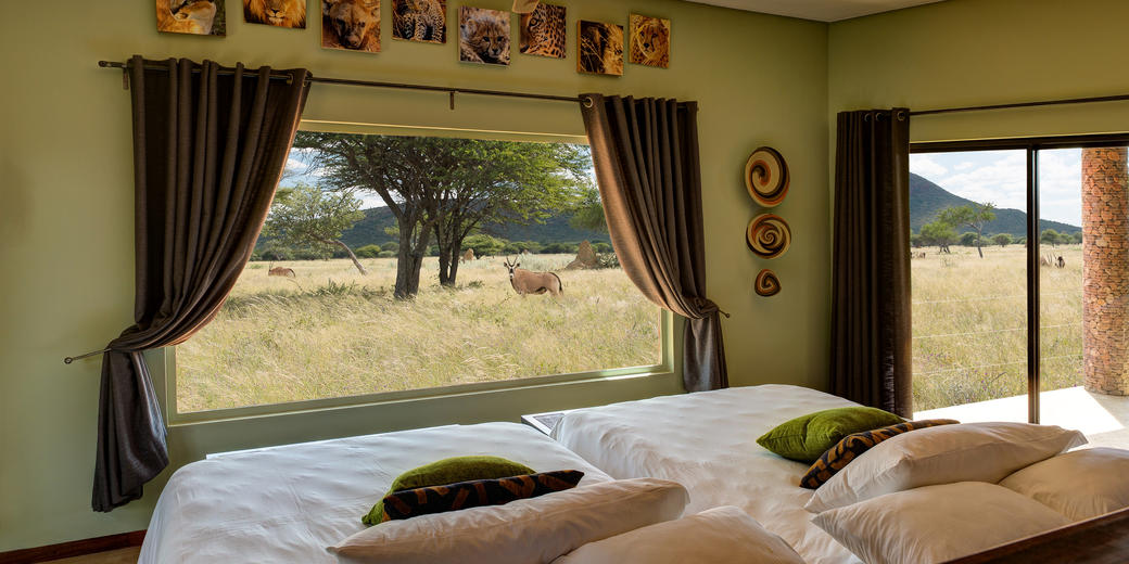 Okonjima Plains Camp - Green Room